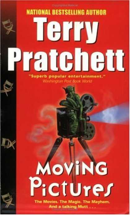 Bestselling Sci-Fi/ Fantasy (2007) - Moving Pictures by Terry Pratchett