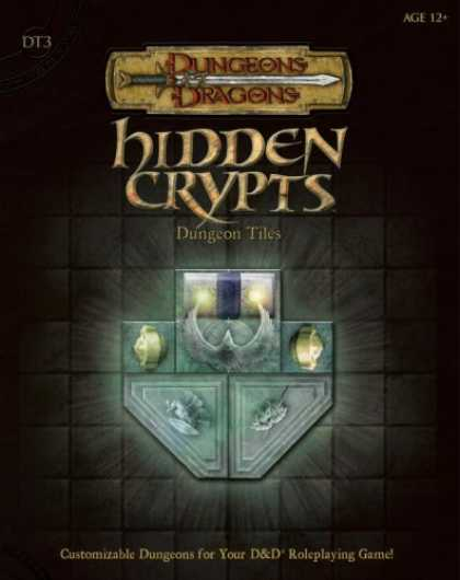 Bestselling Sci-Fi/ Fantasy (2007) - Hidden Crypts Dungeon Tiles, Set 3 (Dungeons & Dragons Accessory) by Wizards Tea