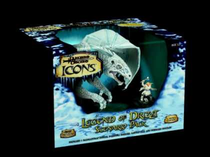 Bestselling Sci-Fi/ Fantasy (2007) - D&D Icons: Legend of Drizzt Scenario Pack by Miniatures Team