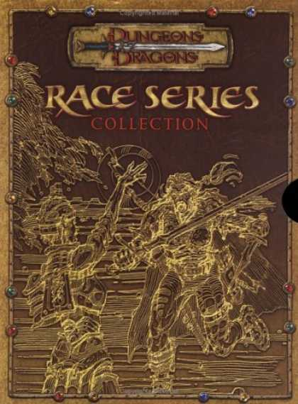 Bestselling Sci-Fi/ Fantasy (2007) - Race Series Collection (Dungeons & Dragons d20 3.5 Fantasy Roleplaying, 3 Book S