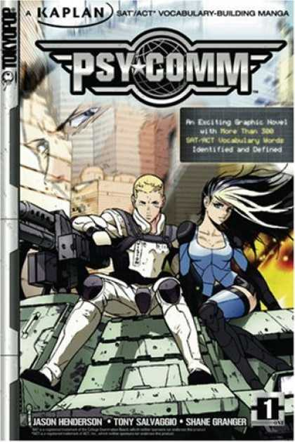 Bestselling Sci-Fi/ Fantasy (2007) - Psy-Comm, Volume 1: Kaplan SAT/ACT Vocabulary-Building Manga (Psy-Comm) by Jason