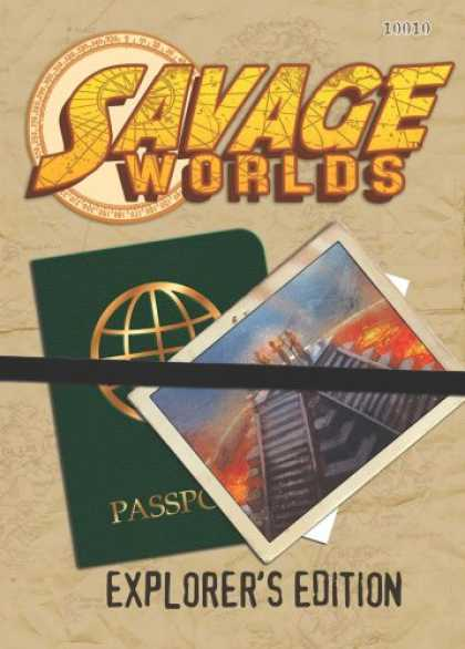 Bestselling Sci-Fi/ Fantasy (2007) - Savage Worlds Explorers Edition (S2P10010) by Staff
