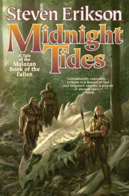 Bestselling Sci-Fi/ Fantasy (2007) - Midnight Tides: A Tale of The Malazan Book of the Fallen by Steven Erikson