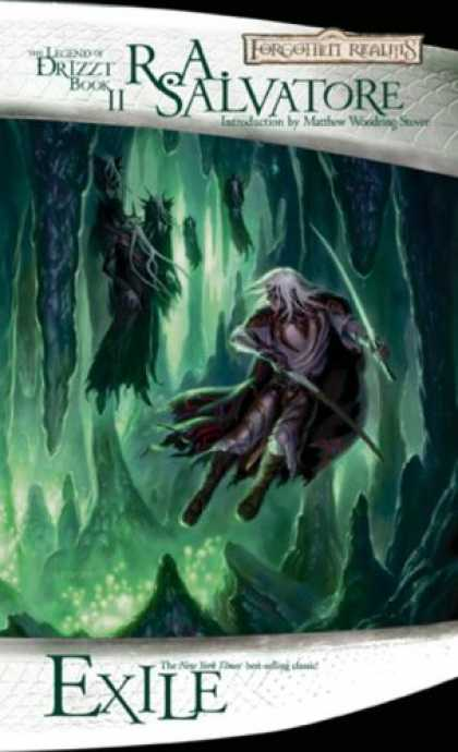 Bestselling Sci-Fi/ Fantasy (2007) - Exile: The Dark Elf Trilogy, Part 2 (Forgotten Realms: The Legend of Drizzt, Boo