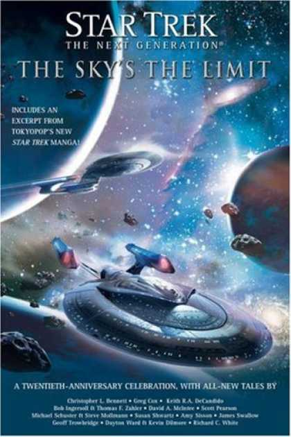Bestselling Sci-Fi/ Fantasy (2007) - Star Trek: TNG: The Sky's the Limit: All New Tales (Star Trek, the Next Generati