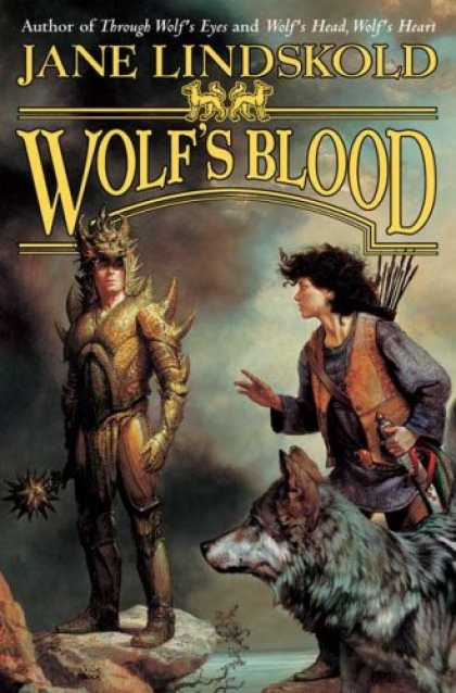Bestselling Sci-Fi/ Fantasy (2007) - Wolf's Blood (Wolf) by Jane Lindskold