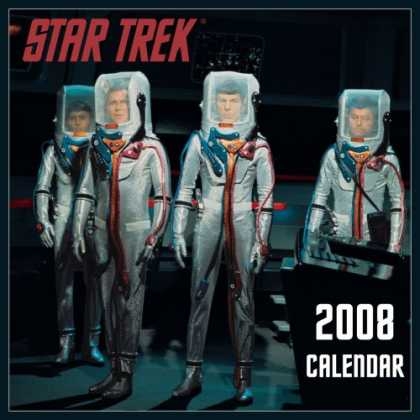 Bestselling Sci-Fi/ Fantasy (2007) - The Star Trek 2008 Calendar by Andrews McMeel