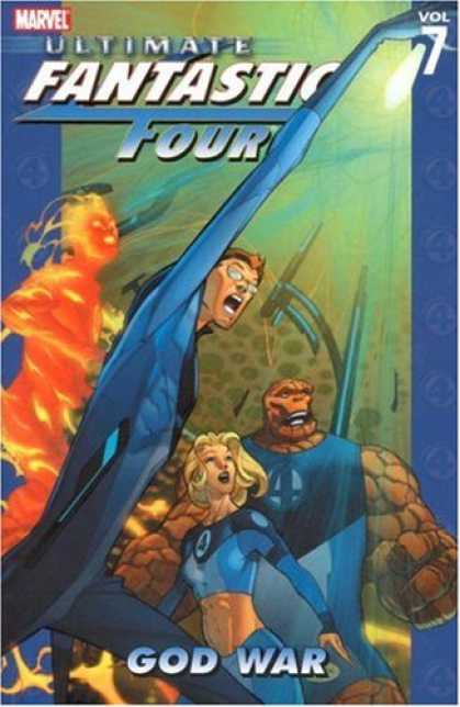 Bestselling Sci-Fi/ Fantasy (2007) - Ultimate Fantastic Four Vol. 7: God War by Mike Carey