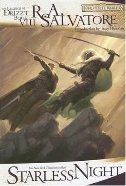 Bestselling Sci-Fi/ Fantasy (2007) - Starless Night (Forgotten Realms: The Legend of Drizzt, Book VIII) by R.A. Salva