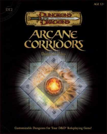 Bestselling Sci-Fi/ Fantasy (2007) - Arcane Corrridors Dungeon Tiles, Set 2 (Dungeons & Dragons Supplement) by Wizard