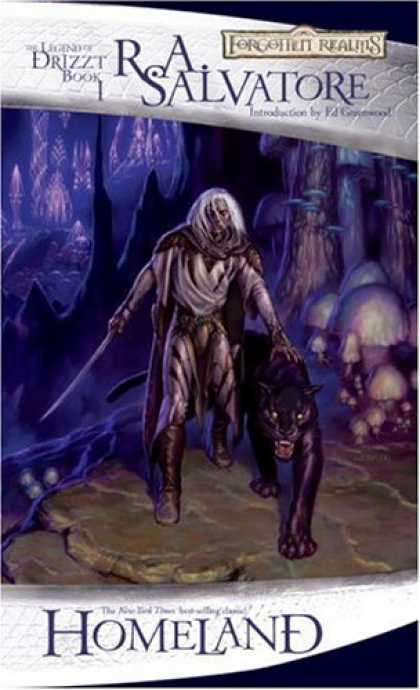 Bestselling Sci-Fi/ Fantasy (2007) - Homeland: The Dark Elf Trilogy, Part 1 (Forgotten Realms: The Legend of Drizzt,