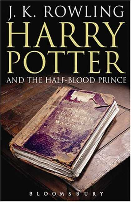 Bestselling Sci-Fi/ Fantasy (2007) - HARRY POTTER AND THE HALF-BLOOD PRINCE. by J. K. Rowling