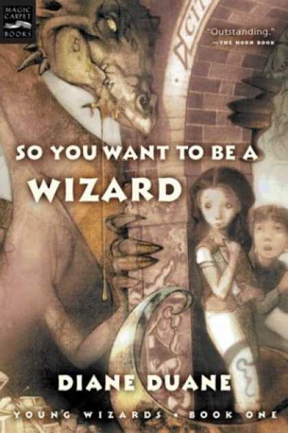 Bestselling Sci-Fi/ Fantasy (2007) - So You Want to Be a Wizard (digest): The First Book in the Young Wizards Series