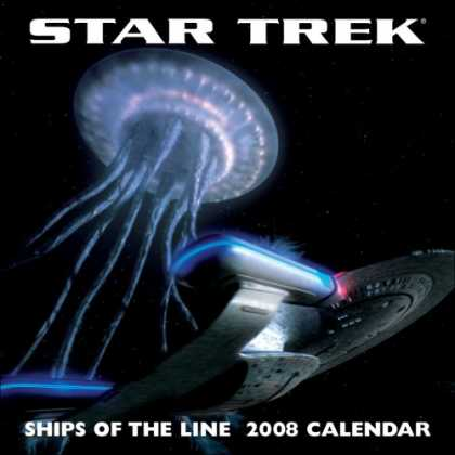 Bestselling Sci-Fi/ Fantasy (2007) - STAR TREK SHIPS OF THE LINE 2008 WALL CALENDAR by LLC Andrews McMeel Publishing