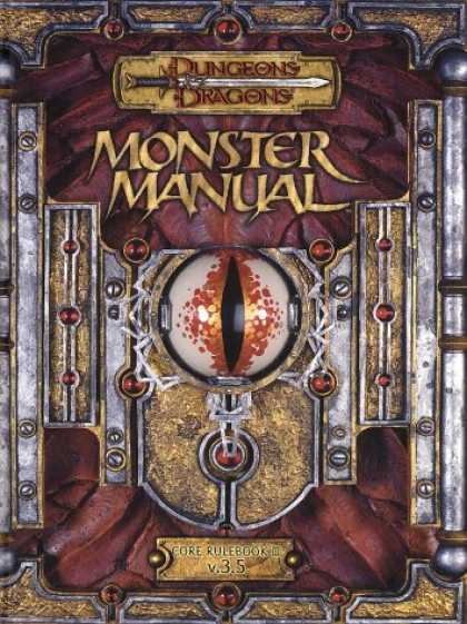 Bestselling Sci-Fi/ Fantasy (2007) - Monster Manual: Core Rulebook III (Dungeons & Dragons d20 3.5 Fantasy Roleplayin