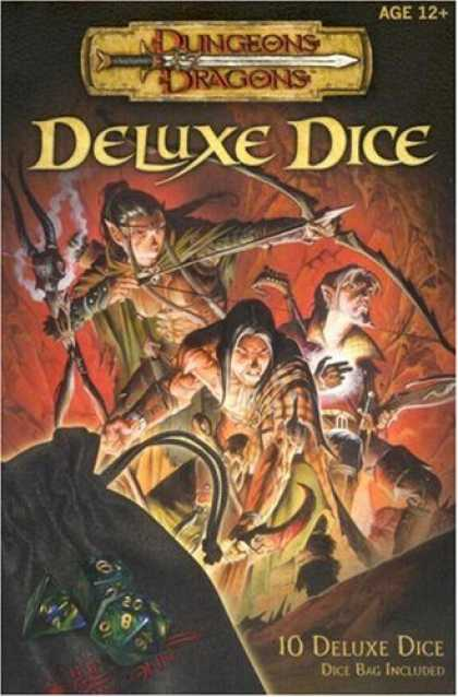 Bestselling Sci-Fi/ Fantasy (2007) - Dungeons & Dragons Deluxe Dice (D&D Accessory) by Wizards Team