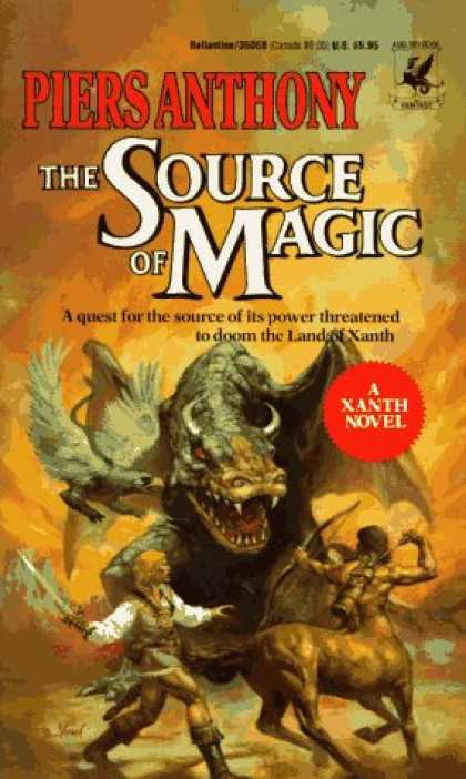 Bestselling Sci-Fi/ Fantasy (2007) - Source of Magic (Xanth Novels) by Piers Anthony