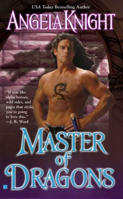 Bestselling Sci-Fi/ Fantasy (2007) - Master of Dragons (Mageverse, Book 8) by Angela Knight