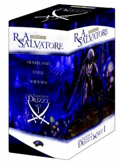 Bestselling Sci-Fi/ Fantasy (2007) - The Legend of Drizzt Boxed Set, Books I-III (The Legend of Drizzt) by R.A. Salva