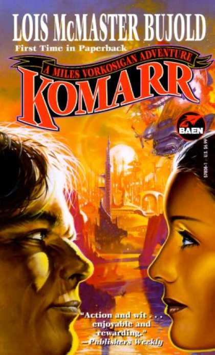 Bestselling Sci-Fi/ Fantasy (2007) - Komarr (Miles Vorkosigan Adventures) by Lois McMaster Bujold