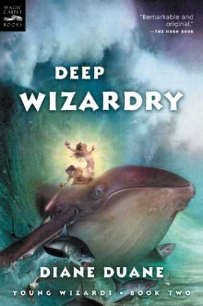 Bestselling Sci-Fi/ Fantasy (2007) - Deep Wizardry (digest): The Second Book in the Young Wizards Series by Diane Dua