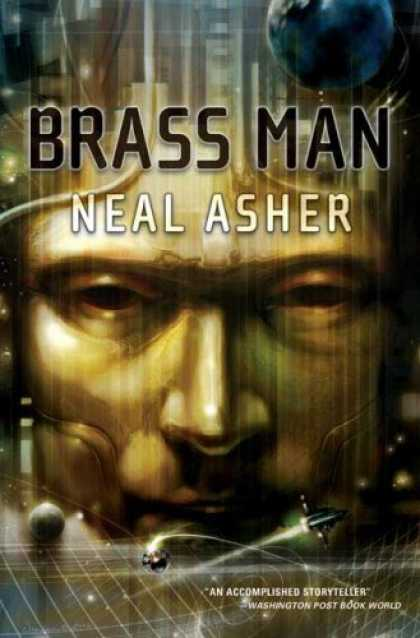 Bestselling Sci-Fi/ Fantasy (2007) - Brass Man by Neal Asher