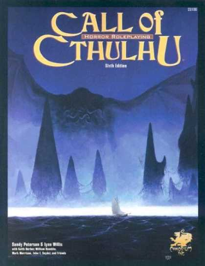 Bestselling Sci-Fi/ Fantasy (2007) - Call of Cthulhu: Horror Roleplaying in the Worlds of H. P. Lovecraft, 6th Editio