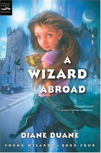 Bestselling Sci-Fi/ Fantasy (2007) - A Wizard Abroad (digest): The Fourth Book in the Young Wizards Series by Diane D