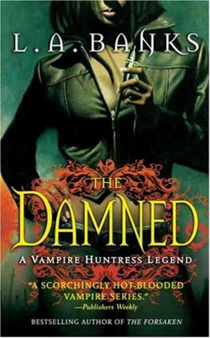 Bestselling Sci-Fi/ Fantasy (2007) - The Damned (A Vampire Huntress Legend) by L. A. Banks