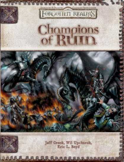 Bestselling Sci-Fi/ Fantasy (2007) - Champions of Ruin (Dungeon & Dragons d20 3.5 Fantasy Roleplaying, Forgotten Real