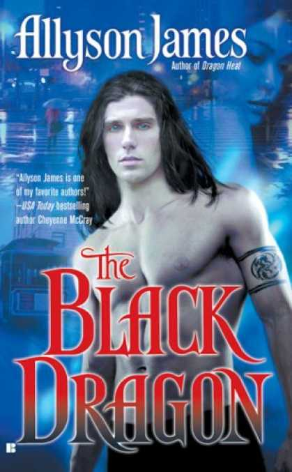 Bestselling Sci-Fi/ Fantasy (2007) - The Black Dragon (Dragon Series, Book 2) by Allyson James