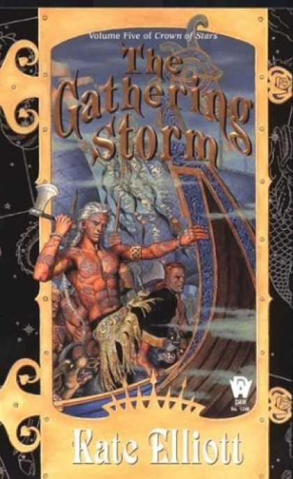 Bestselling Sci-Fi/ Fantasy (2007) - The Gathering Storm (Crown of Stars, Vol. 5) by Kate Elliott