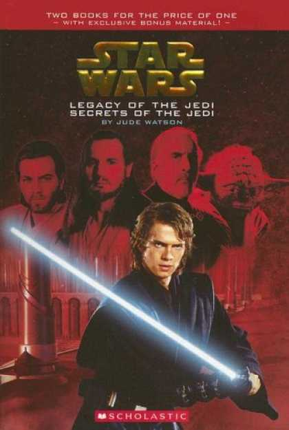 Bestselling Sci-Fi/ Fantasy (2007) - Legacy of the Jedi / Secrets of the Jedi (Star Wars) by Jude Watson