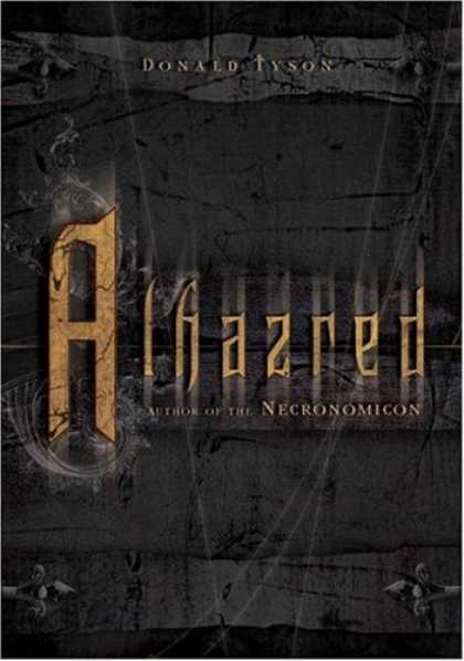 Bestselling Sci-Fi/ Fantasy (2007) - Alhazred: Author of the Necronomicon by Donald Tyson
