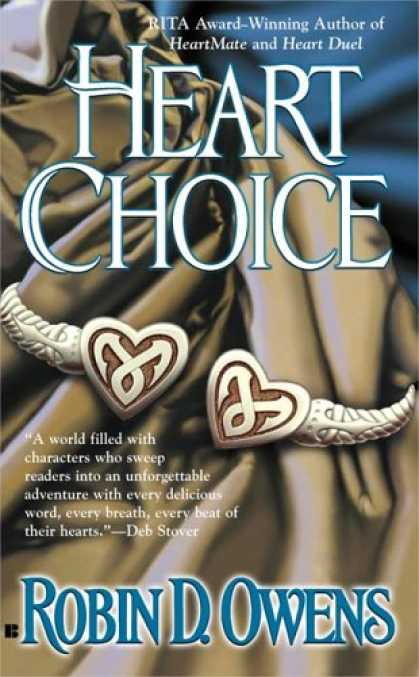 Bestselling Sci-Fi/ Fantasy (2007) - Heart Choice (Celta's HeartMates, Book 4) (Berkley Sensation) by Robin D. Owens