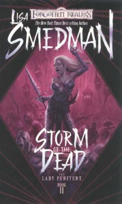 Bestselling Sci-Fi/ Fantasy (2007) - Storm of the Dead (Forgotten Realms: The Lady Penitent, Book 2) by Lisa Smedman