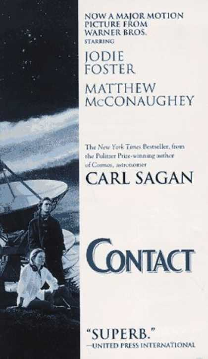 Bestselling Sci-Fi/ Fantasy (2007) - Contact by Carl Sagan