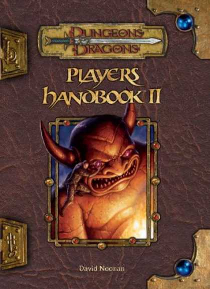Bestselling Sci-Fi/ Fantasy (2007) - Player's Handbook II (Dungeons & Dragons d20 3.5 Fantasy Roleplaying) by David N