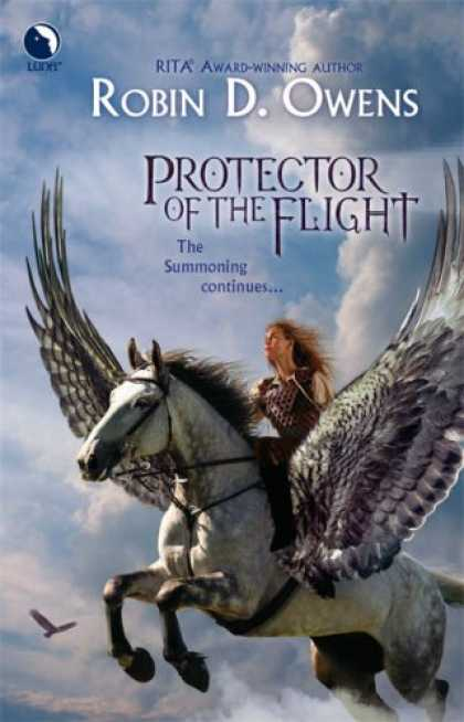 Bestselling Sci-Fi/ Fantasy (2007) - Protector of the Flight (The Summoning, Book 3) (Luna Books) by Robin D. Owens