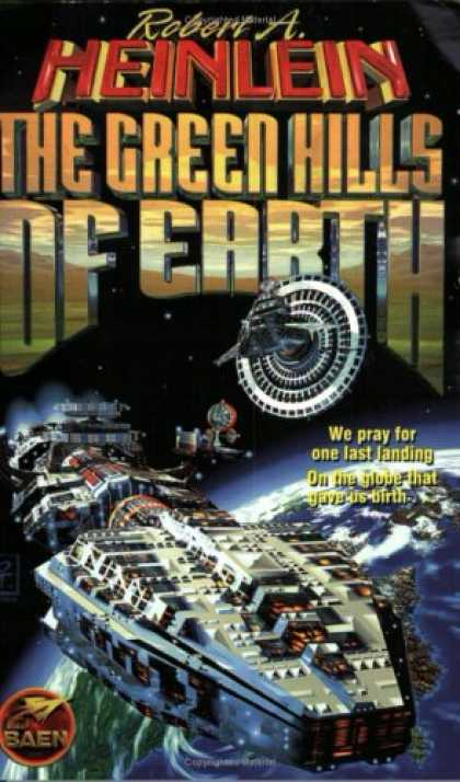 Bestselling Sci-Fi/ Fantasy (2007) - The Green Hills Of Earth by Robert A. Heinlein
