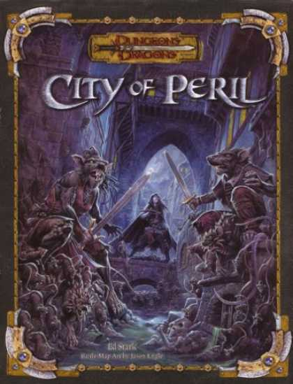 Bestselling Sci-Fi/ Fantasy (2007) - City of Peril (Dungeons & Dragons Accessory) by Wizards Team