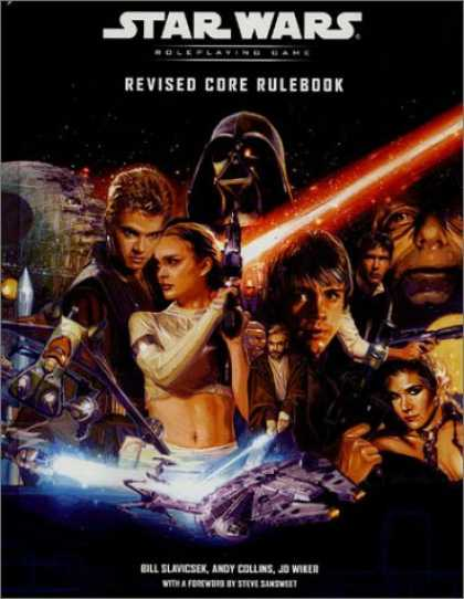 Bestselling Sci-Fi/ Fantasy (2007) - Revised Core Rulebook (Star Wars Roleplaying Game) by Bill Slavicsek