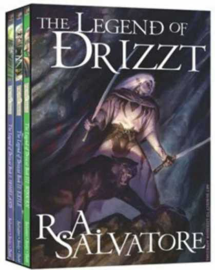 Bestselling Sci-Fi/ Fantasy (2007) - Forgotten Realms - The Legend Of Drizzt Box Set Volumes 1-3 (Forgotten Realms) b