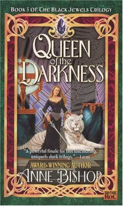 Bestselling Sci-Fi/ Fantasy (2007) - Queen of the Darkness: The Black Jewels Trilogy 3 (Archive) by Anne Bishop
