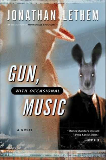 Bestselling Sci-Fi/ Fantasy (2007) - Gun, with Occasional Music (Harvest Book) by Jonathan Lethem