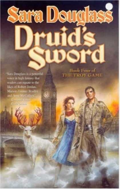 Bestselling Sci-Fi/ Fantasy (2007) - Druid's Sword (The Troy Game) by Sara Douglass