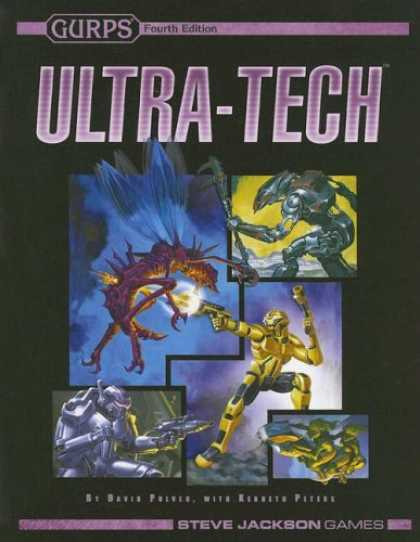 Bestselling Sci-Fi/ Fantasy (2007) - Gurps Ultra-tech (Gurps) by David L. Pulver