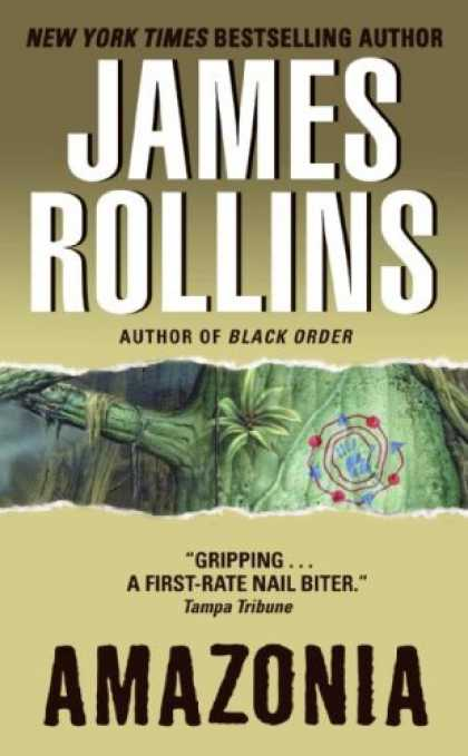 Bestselling Sci-Fi/ Fantasy (2007) - Amazonia by James Rollins