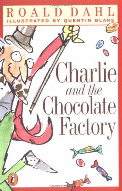 Bestselling Sci-Fi/ Fantasy (2007) - Charlie and the Chocolate Factory (Puffin Novels) by Roald Dahl