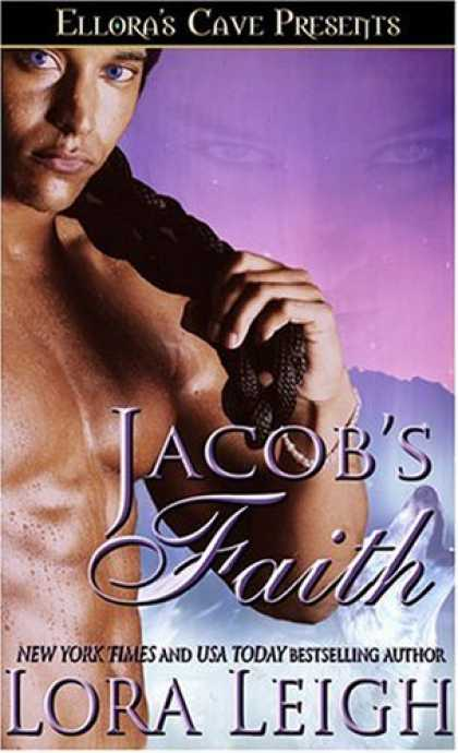 Bestselling Sci-Fi/ Fantasy (2007) - Jacob's Faith (Wolf Breeds, Book 2) by Lora Leigh